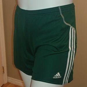 Green Adidas Soccer Shorts